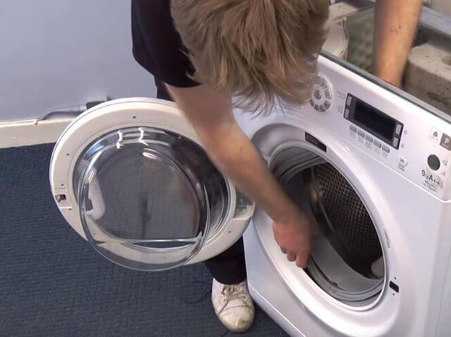 Máy giặt rung to có thể là một biểu hiện của hỏng hóc