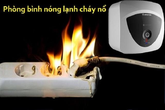 Bình nóng lạnh bằng gas được đảm bảo nếu sử dụng đúng cách