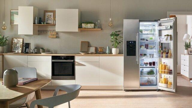 Cái tên Tủ lạnh Inverter xuất phát từ thực tế là máy nén được lắp vào thân của tủ lạnh chính là bộ biến tần