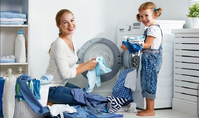 Cho máy giặt chạy lại thêm một lần để kiểm tra