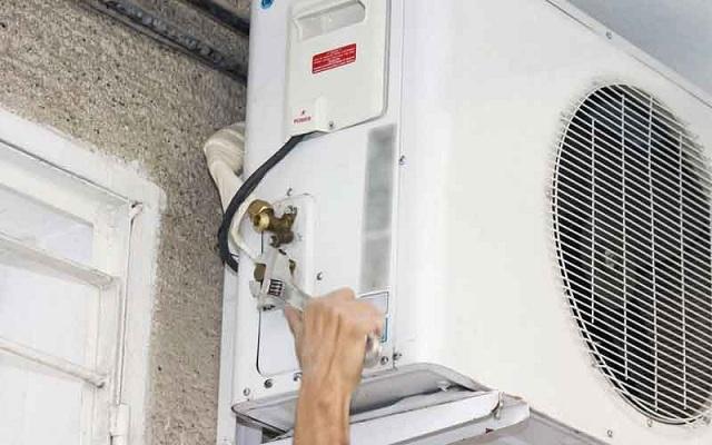 Cục nóng kêu to có thể vì lắp đặt sai tiêu chuẩn