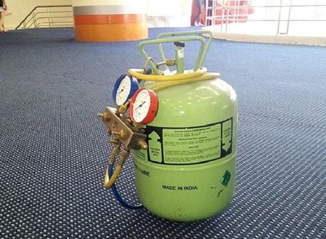 Gas điều hòa là môi chất lạnh dùng để làm lạnh hấp thụ nhiệt