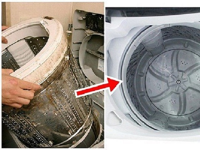Tháo mâm máy giặt cần nhẹ nhàng, tránh để làm rơi, vỡ