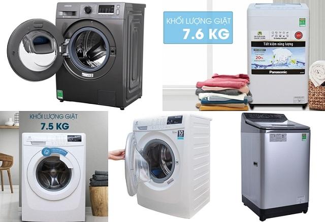 Tìm hiểu kích thước máy giặt hiện nay 2021