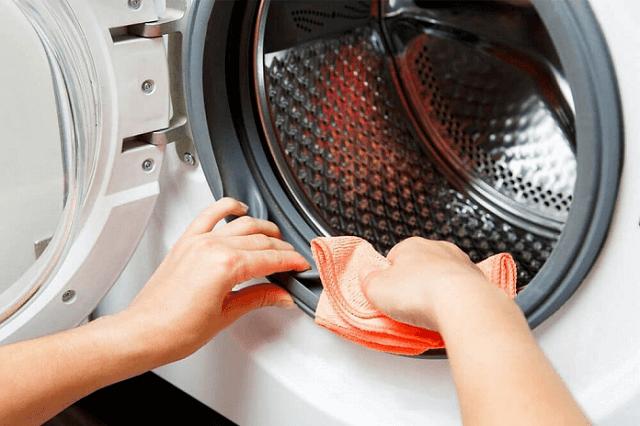Vệ sinh máy giặt theo phương pháp truyền thống