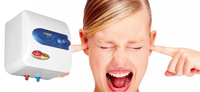 Bình nóng lạnh hoạt động gây ra tiếng ồn