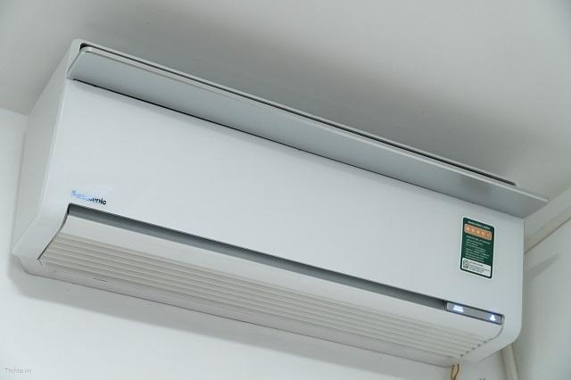 Cửa gió điều hòa không mở dù vẫn vào điện