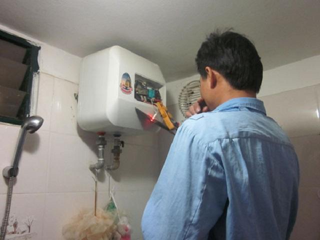 Quá trình bảo dưỡng bình nóng lạnh
